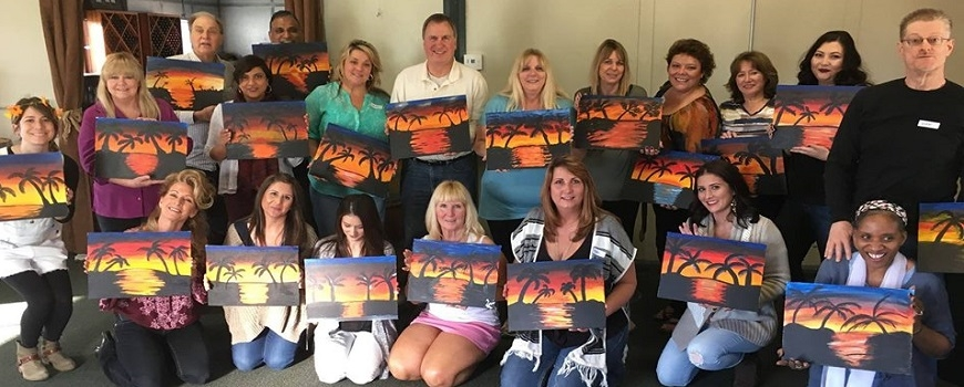 Wine and Paint with Amy