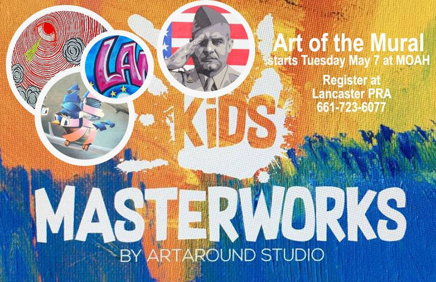 Kids' Masterworks: Art of the Mural