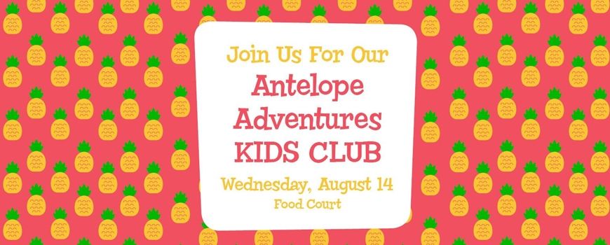 Antelope Adventures Kids Club