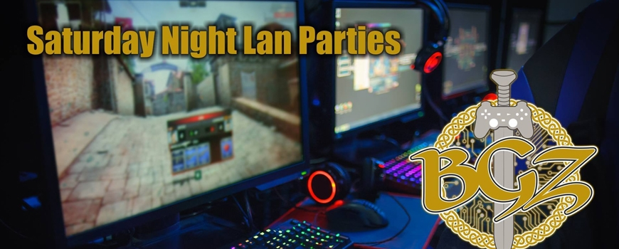 Saturday Night Lan Parties at BattleGroundz