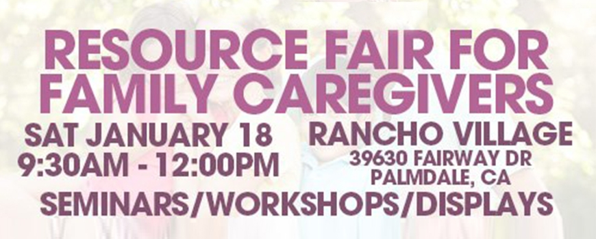 A Resource Fair for Family Caregivers