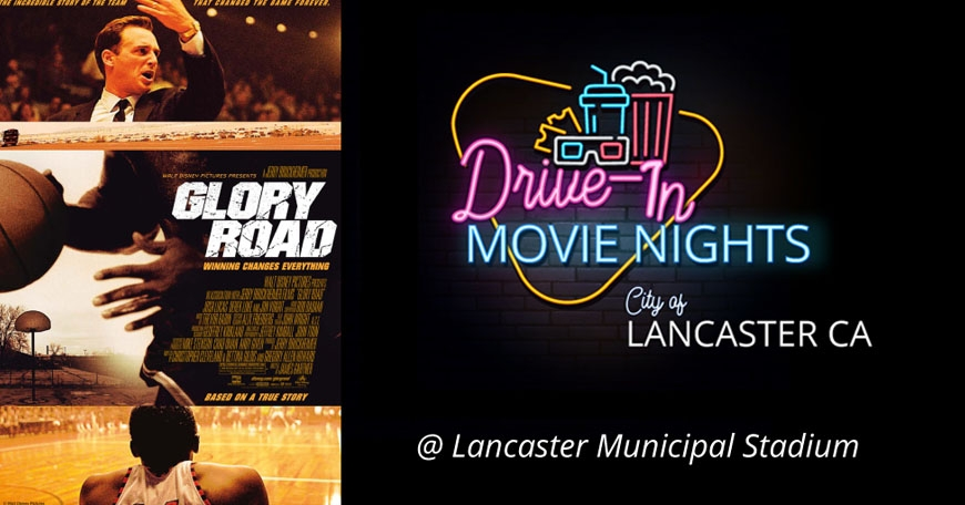 Drive-In Movie Nights - Glory Road