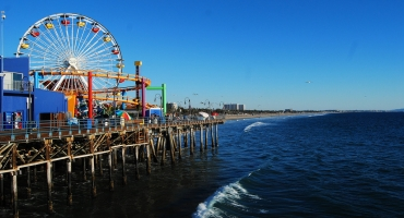 2. Santa Monica Beach Photo