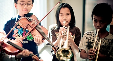 Salvation Army Music Program Photo